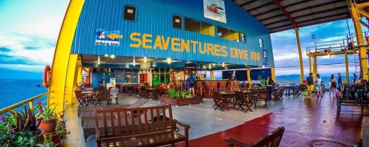 10 Hotel più strani del mondo: Seaventures Dive Resort