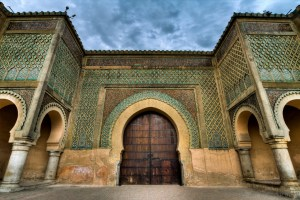 Meknès, L'imponente porta di Bab Mansour