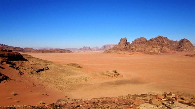 Giordania: Deserto del Wadi Rum