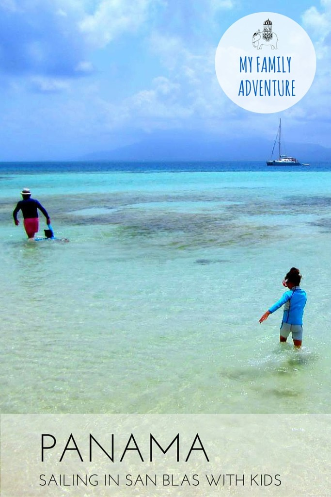 Family Adventure: Sailing in San Blas, Panama with Kids via @globetotting