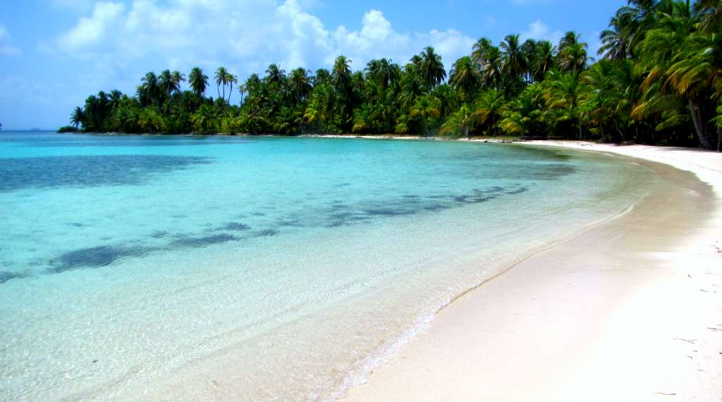 The island of Salardup, San Blas, Panama