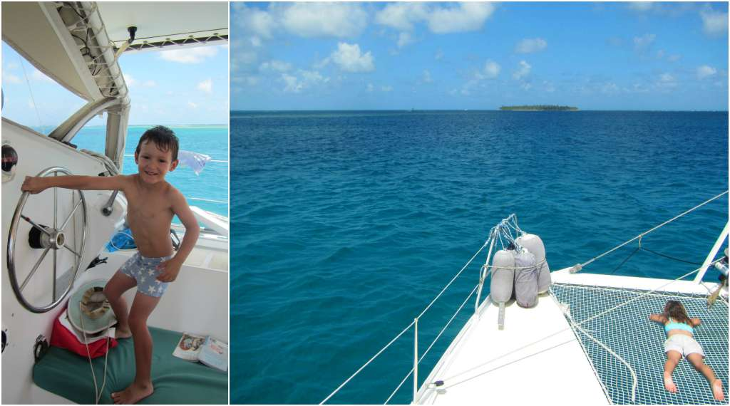 Sailing in San Blas Panama with kids