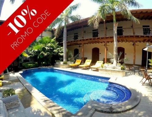 Family Hotel Review: Hotel Plaza Colon, Granada, Nicaragua