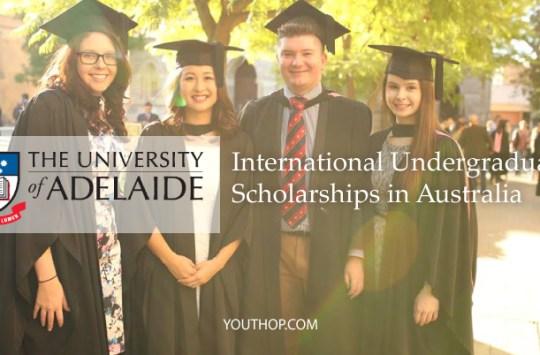 University-of-Adelaide-International-Undergraduate-Scholarships-2017-in-Australia
