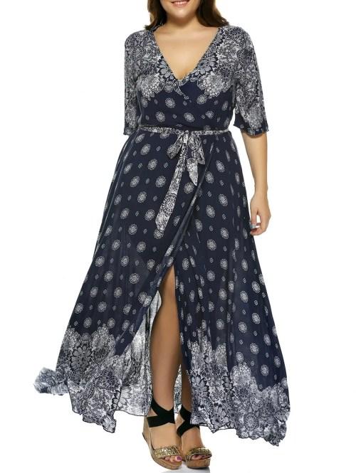 Medium Of Plus Size Boho Dresses