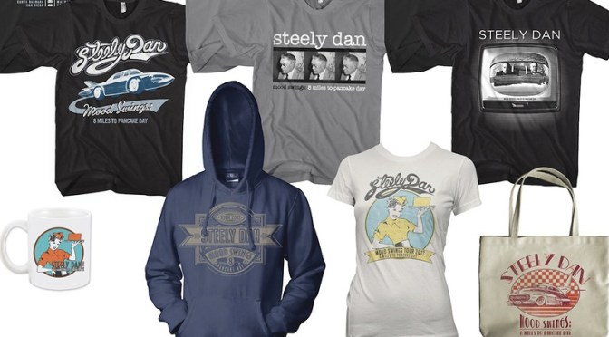 Steely Dan 2013 merch
