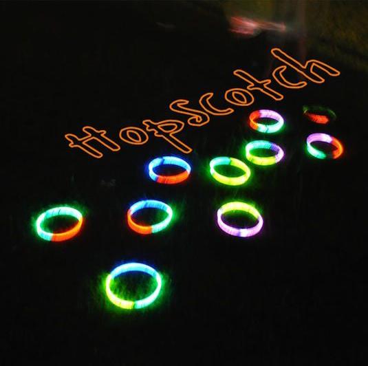 Cool-Glow-Stick-Crafts-Glow-Stick-Hopscotch-10