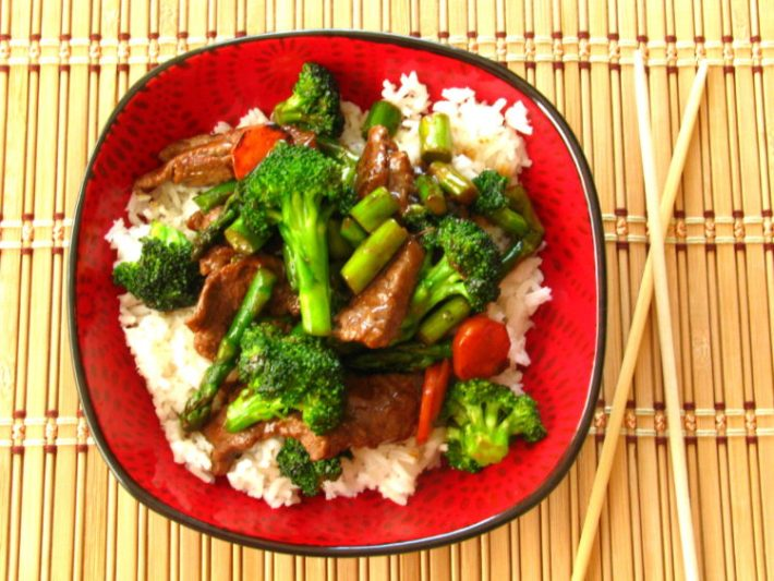 Steak and Veggie Stir Fry