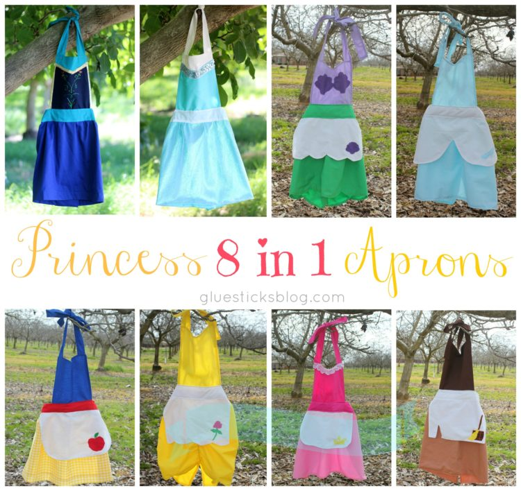 8 in 1 Princess Apron Tutorial