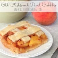 Old Fashioned Peach Cobbler