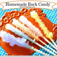 Homemade Rock Candy