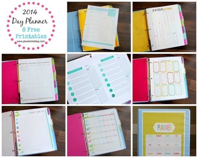 2014 Printable Day Planner M1F0rlgx