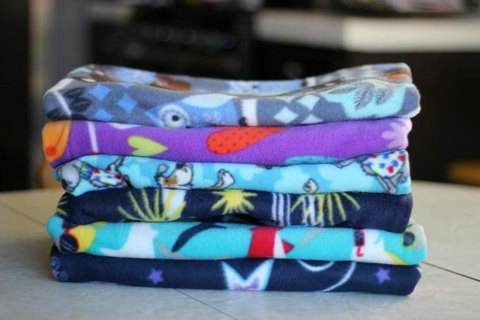 3 slep fleece pillowcase