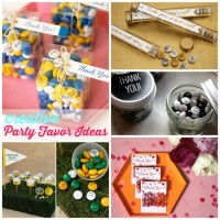 Creative Party Favor Ideas #EviteGatherings