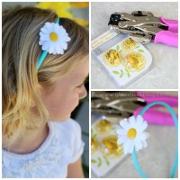Felt Daisy Head Band