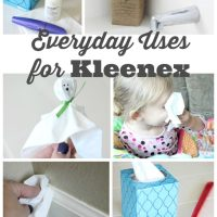Everyday Uses for Kleenex {and a tutorial!}