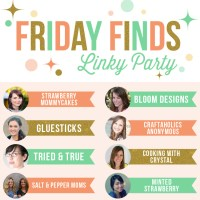 Friday Finds Link Party {NEW!!}