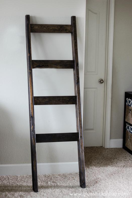 Diy stocking ladder gluesticks for Ladder project