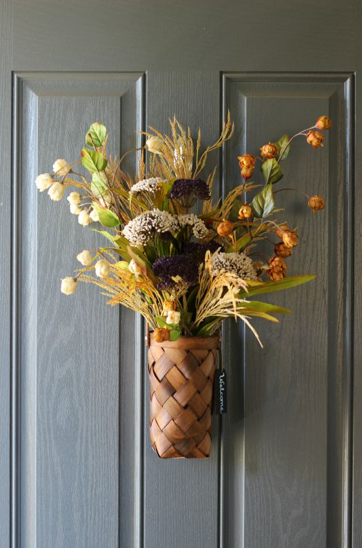 Autumn Door Arrangement