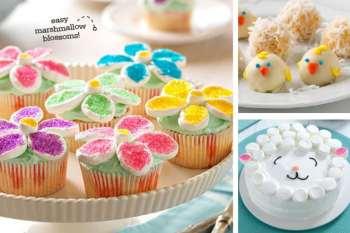 Cute & Colorful Easter Dessert Ideas
