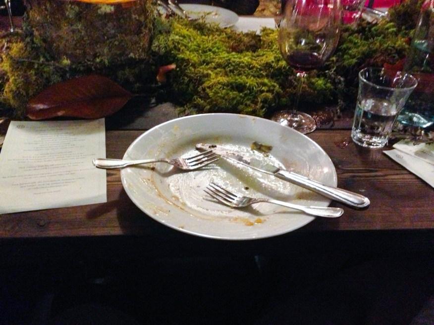 Redzepi- empty plate