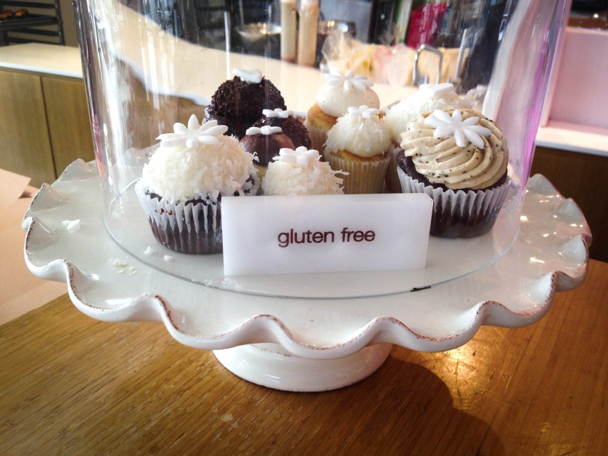Napa- gluten-free cupcakes