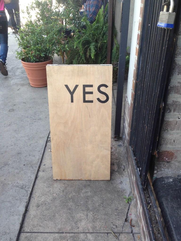 SB to LA- yes