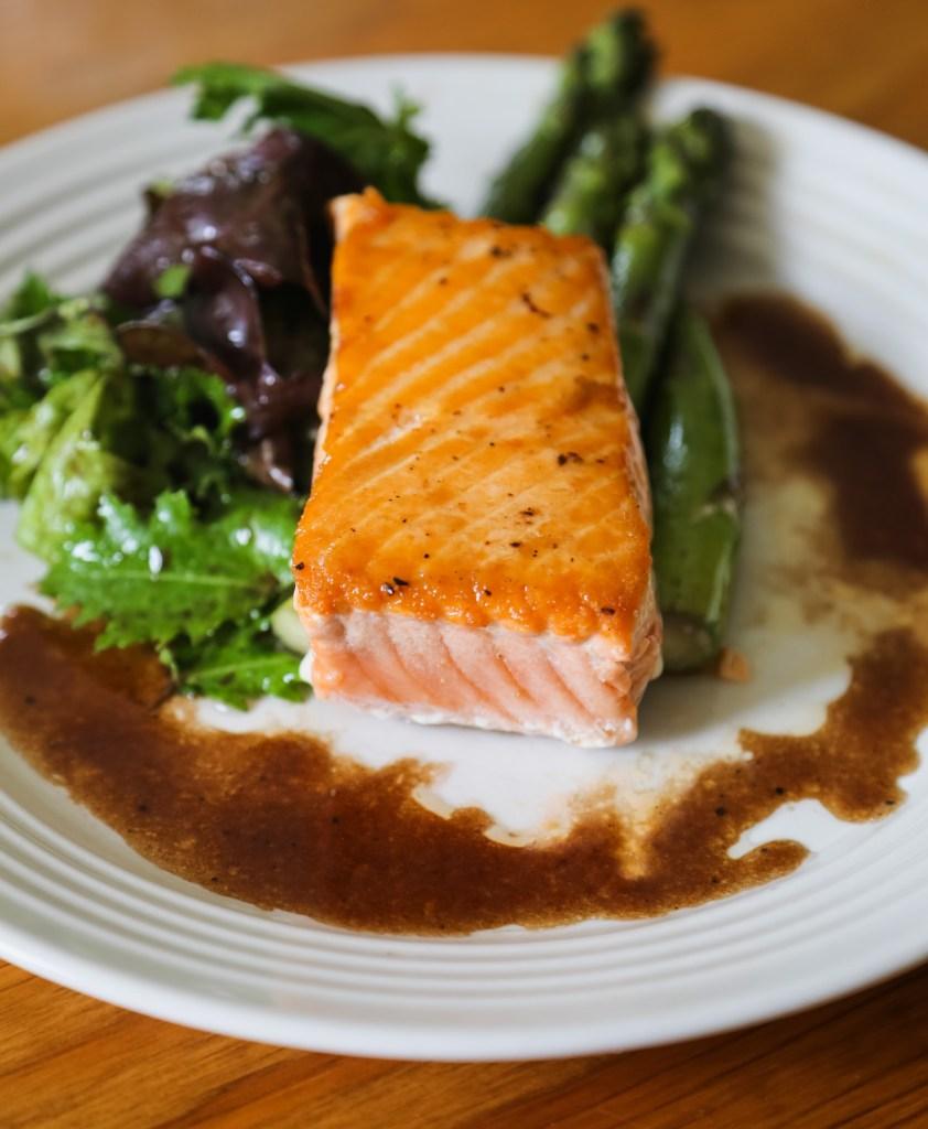 Alaska gold salmon