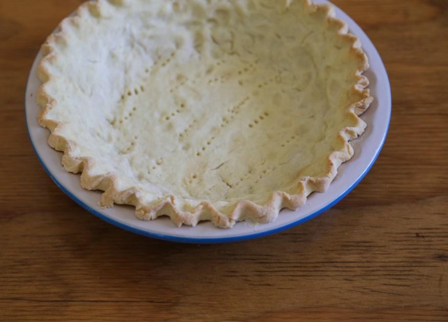 Letterman pie dough