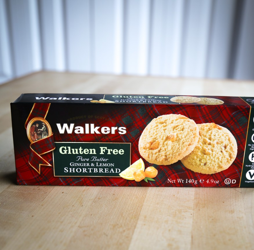 ... shortbread, and ginger and lemon shortbread. Walker's gluten-free