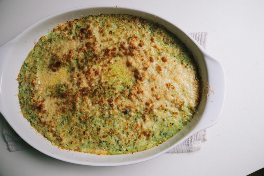 zucchini gratin_