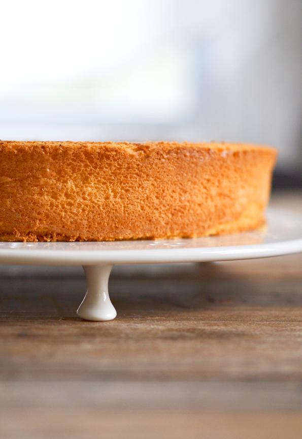 Paleo Egg-Yolk Sponge Cake