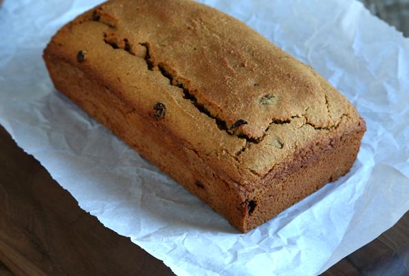 Paleo Chocolate Cherry Chip Cake