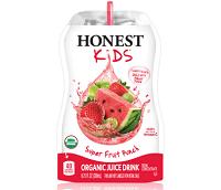 Honest organic juice