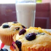 No Monday Blues Blueberry Lemon Muffins