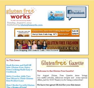 gluten free gazette