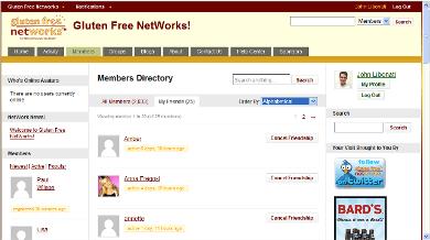 Gluten Free NetWorks