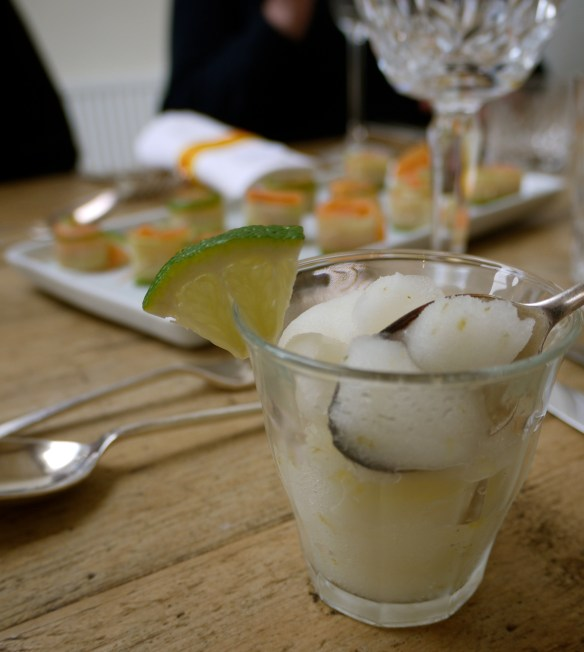 G and T sorbet