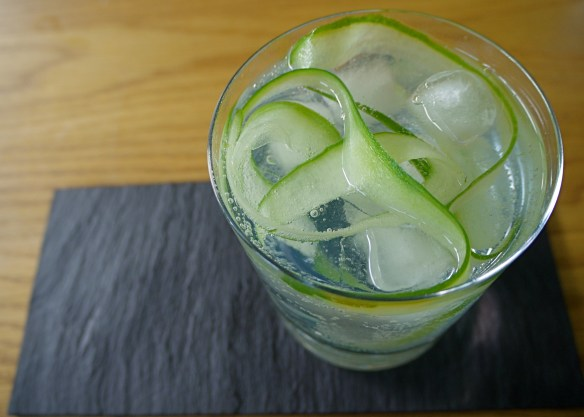 hendricks and cucumber