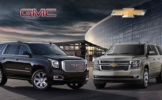 GM SUVs And Trucks Make Longest Lasting List   GM Authority 2015 GMC Yukon 2015 Yukon Denali 2015 Chevrolet Tahoe 2015 Chevrolet  Suburban