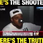 Cops told the world he's the shooter. Here's the truth