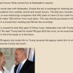 """FBI Collapsing in on itself"" – Israel Bribed Hillary!"