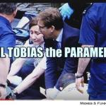 London False Flag Hoax: How in the blazes can paramedics allow an MP to do their job? MP Tobias Elwood best supporting actor