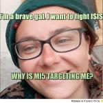 British woman fighting against ISIS in Syria says MI5 targeting her family