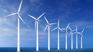 molino de viento para generar energía eolica