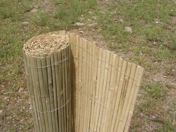 Bambusová rohož plotová
