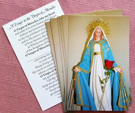 Prayer to Virgin of Miracles