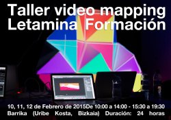 Taller Video Mapping Letamina 2015