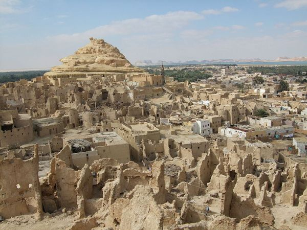 Siwa Oasis mud brick buildings Lost Tribe of Judah Found: The Scattered Children of Bab El