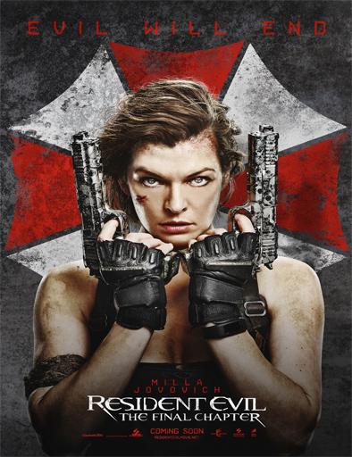 Poster de Resident Evil: Capítulo final